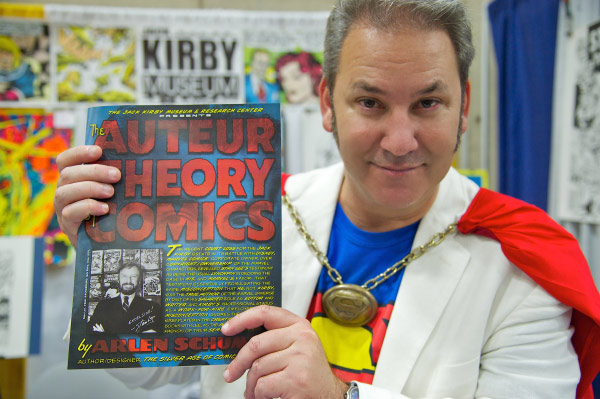 "Arlen Schumer and ""The Auteur Theory of Comics"""