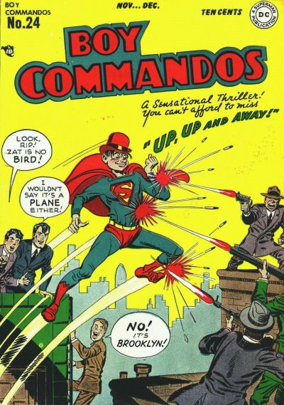 1947 - Boy Commandos 24 cover
