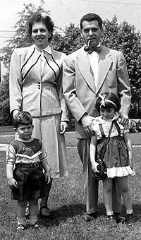 1950s - Neal, Roz, Jack & Susan Kirby