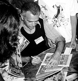 1976 - Signing at the San Diego Comic Convention
