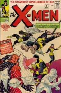 1963 - The X-Men #1 cover