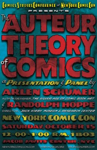 2011 - Auteur Theory NYCC postcard