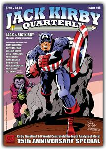 2008 - Jack Kirby Quarterly 15 cover