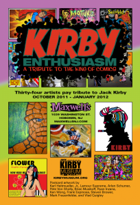 2011 - Kirby Enthusiasm postcard