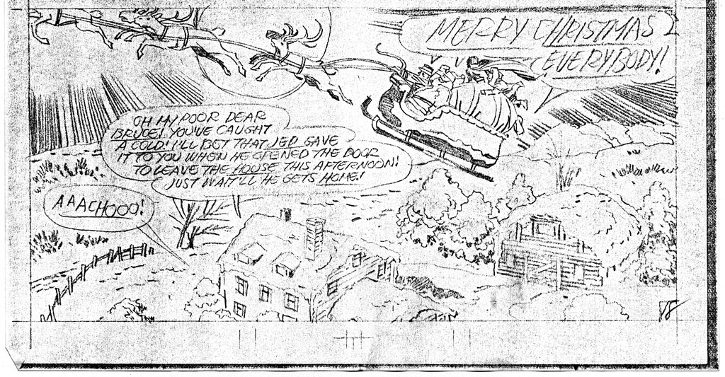 1975 - The Seal Men's War on Christmas final panel