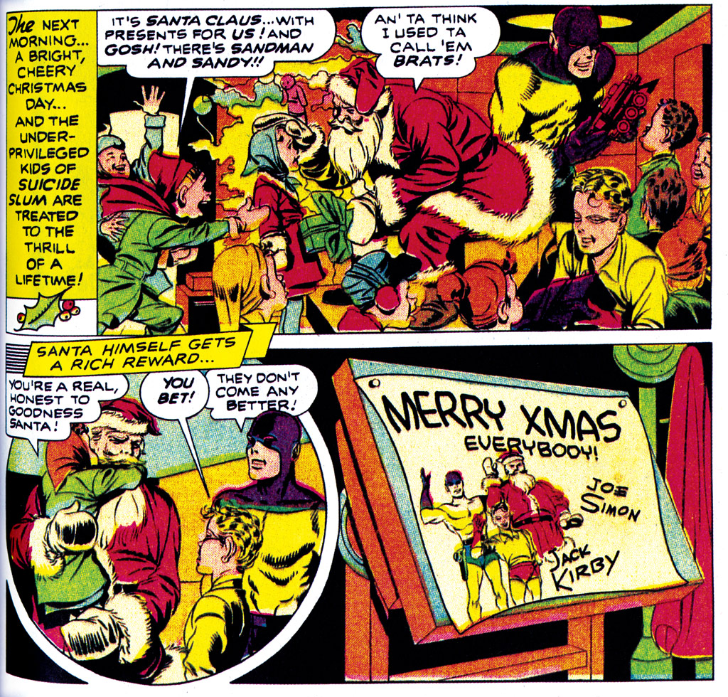1942 - Santa Fronts For The Mob final panels