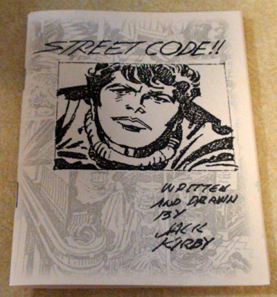 2009 - Street Code minicomic cover