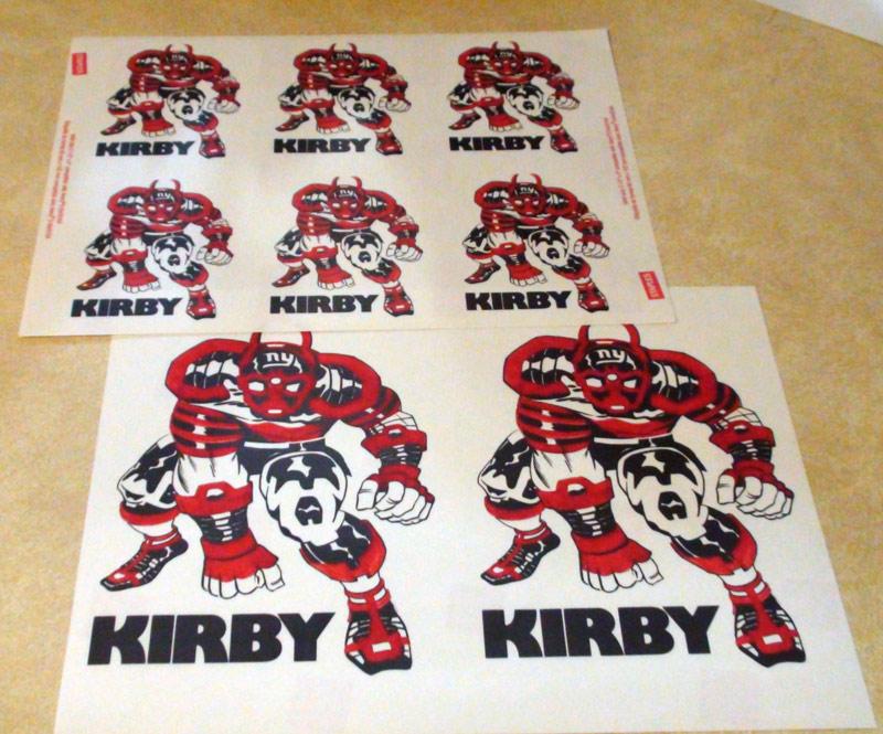 2009 - NY Kirby labels