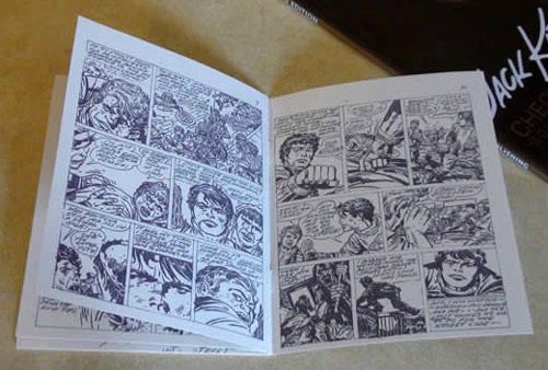 2009 - Street Code minicomic pages 9 and 10